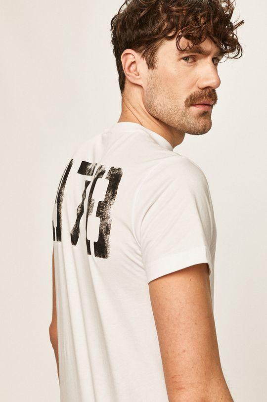 biały Diesel - T-shirt
