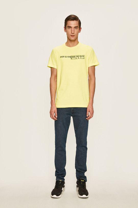 Diesel - Tričko žlutá