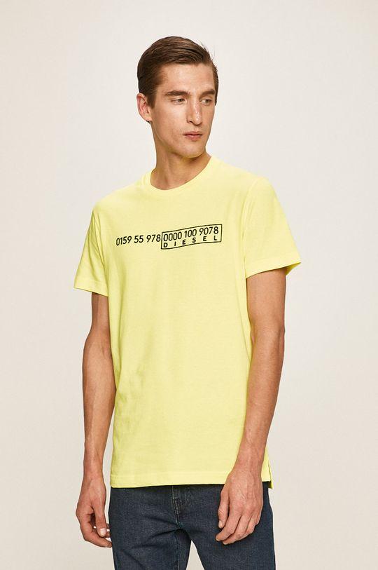 žlutá Diesel - Tričko