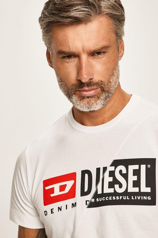 biela Diesel - Pánske tričko Pánsky