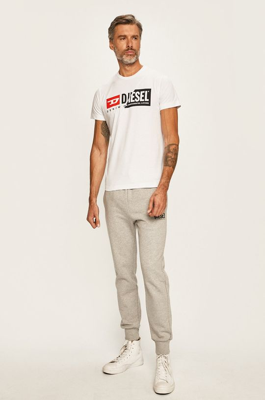Diesel - Pánske tričko biela