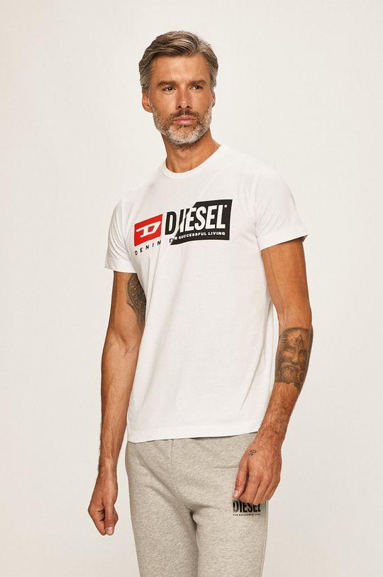 biela Diesel - Pánske tričko