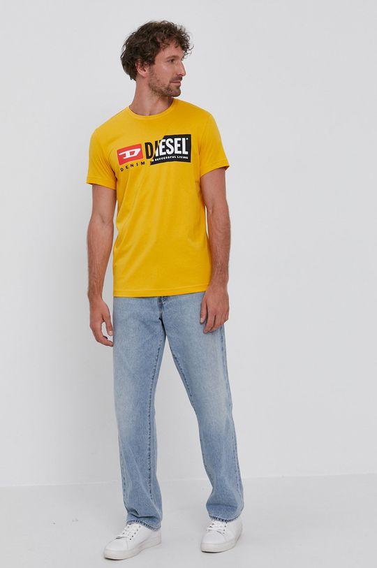 Diesel - Tričko oranžová
