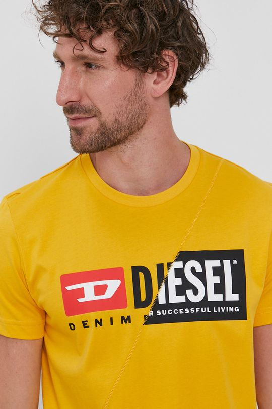 oranžová Diesel - Tričko