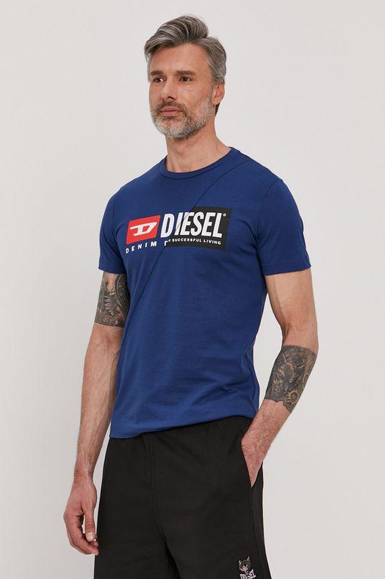 Diesel - Tričko ocelová modrá