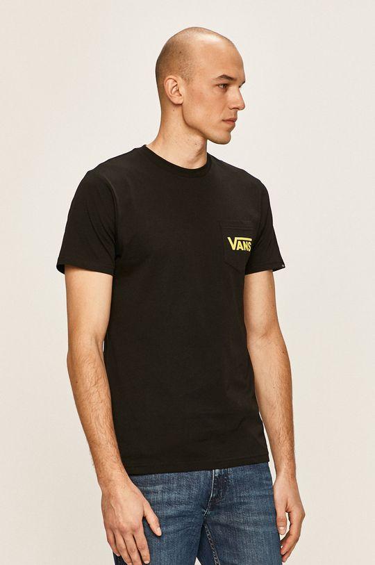 negru Vans - Tricou De bărbați