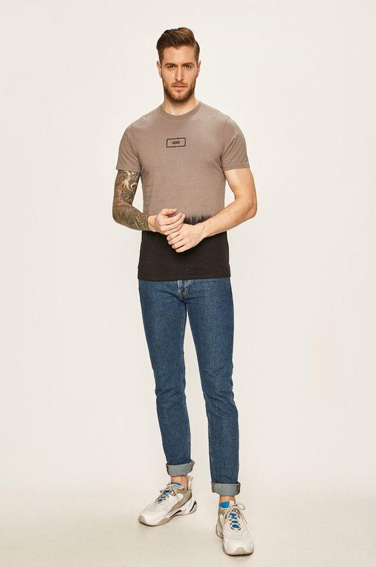 Vans - Pánske tričko sivá