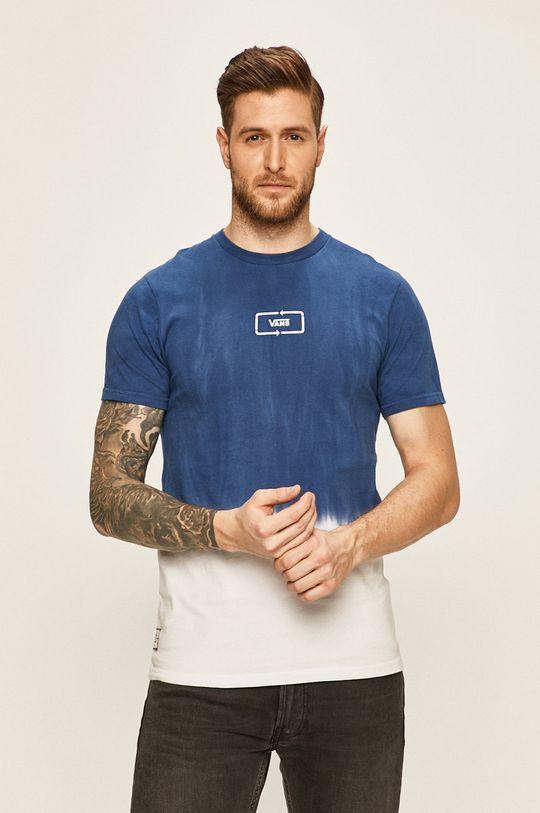 modrá Vans - Pánske tričko Pánsky