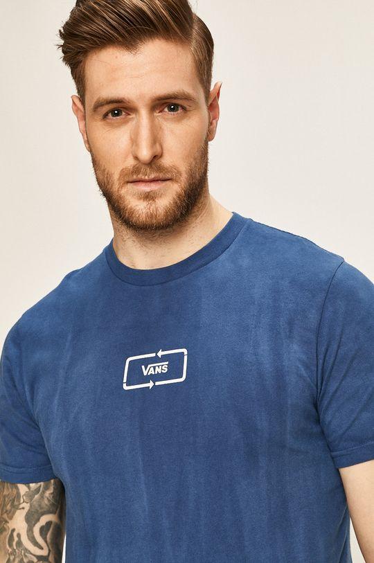 modrá Vans - Pánske tričko