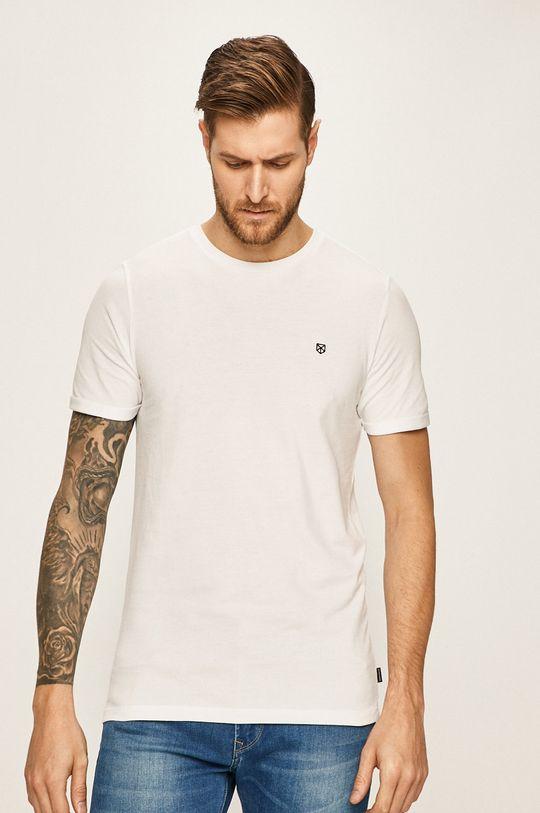 biały Premium by Jack&Jones - T-shirt Męski