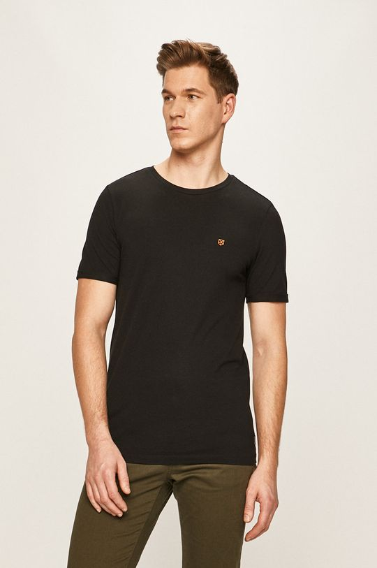 czarny Premium by Jack&Jones - T-shirt