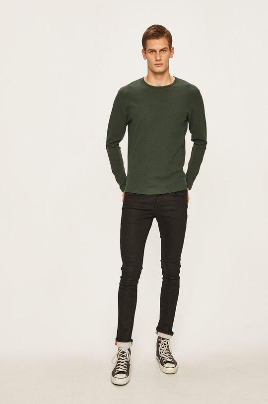 Only & Sons - Tričko s dlouhým rukávem ocelová zelená