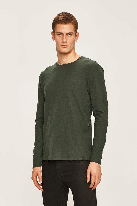 ocelová zelená Only & Sons - Tričko s dlouhým rukávem