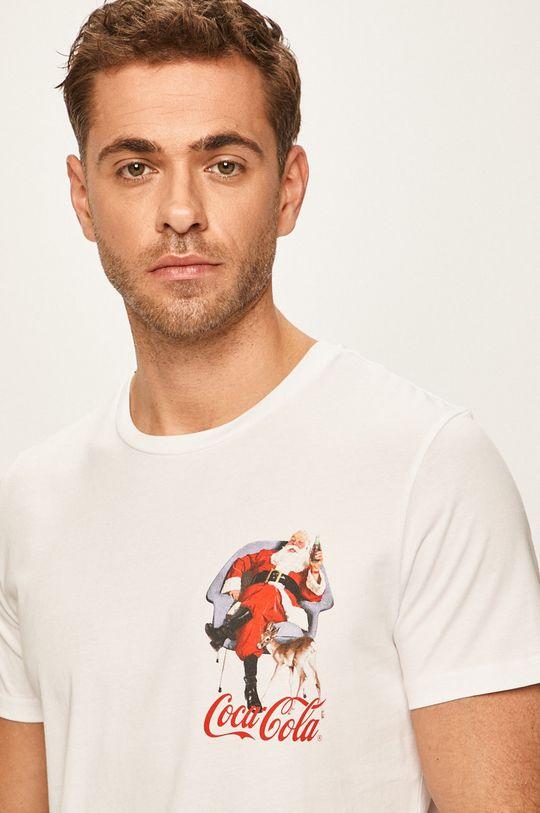 Jack & Jones - Pánske tričko biela