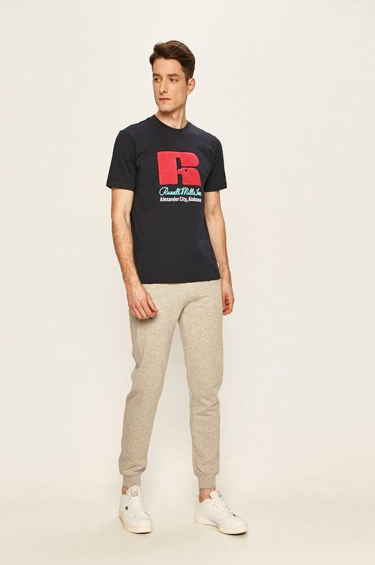 Russell Athletic - Tričko námořnická modř