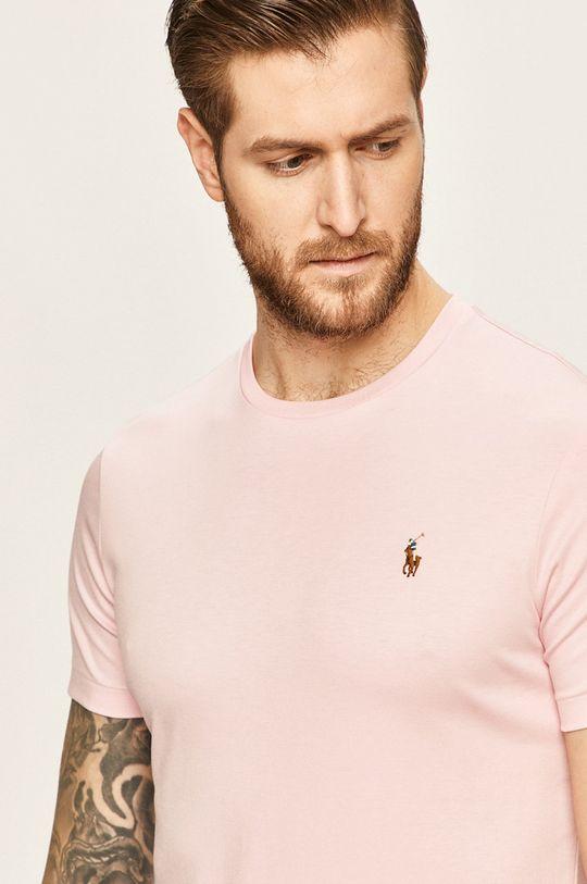 ružová Polo Ralph Lauren - Pánske tričko Pánsky