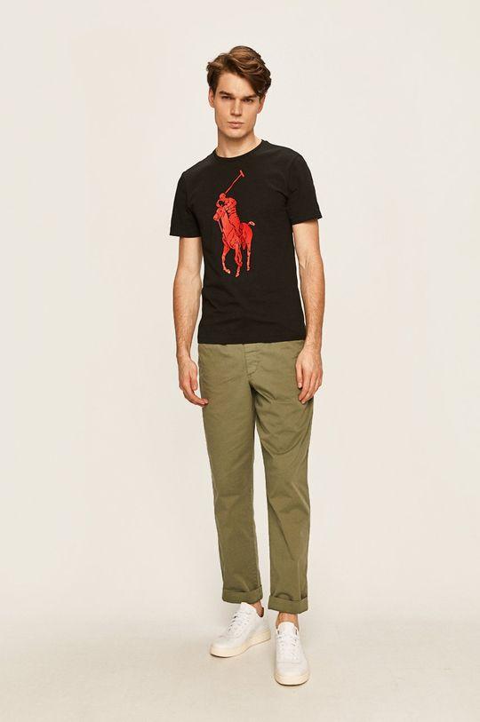 Polo Ralph Lauren - Pánske tričko čierna