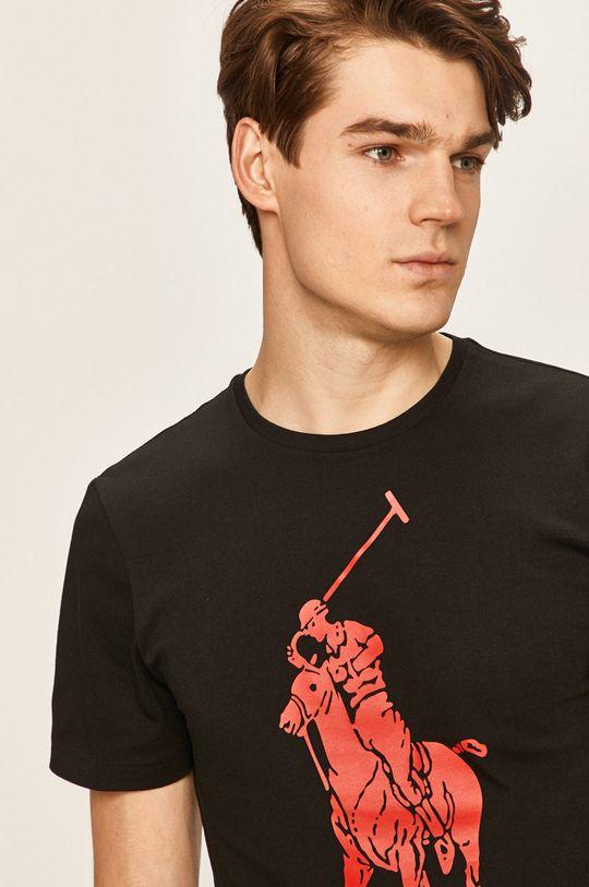 čierna Polo Ralph Lauren - Pánske tričko