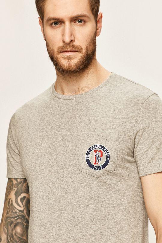 šedá Polo Ralph Lauren - Tričko Pánský
