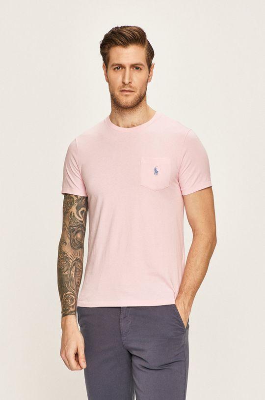růžová Polo Ralph Lauren - Tričko Pánský