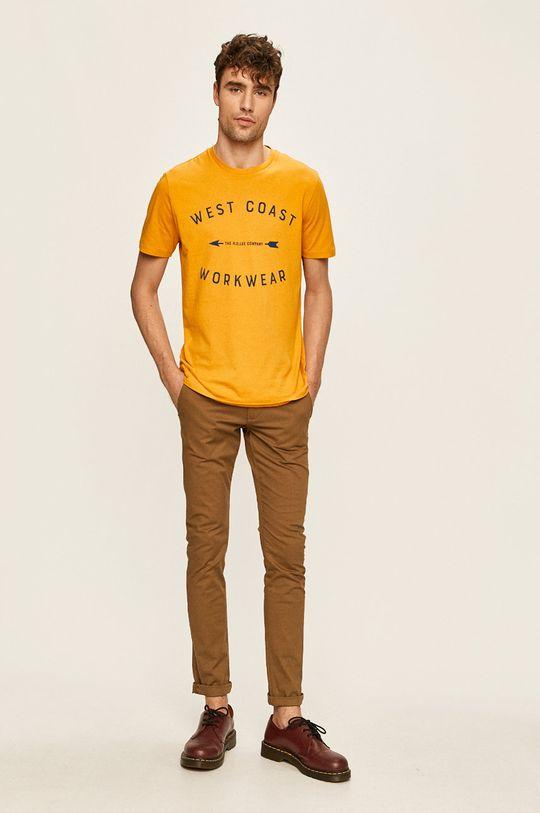 Lee - T-shirt bursztynowy