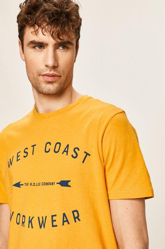 bursztynowy Lee - T-shirt