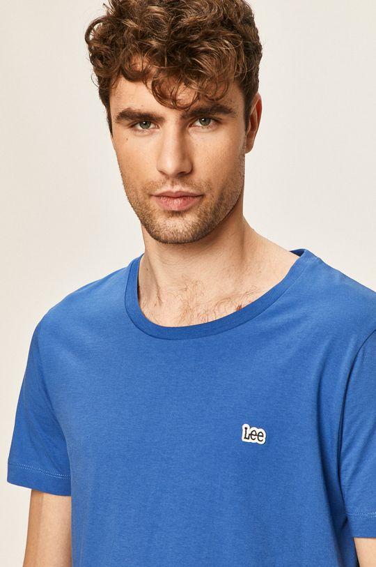 světle modrá Lee - Tričko