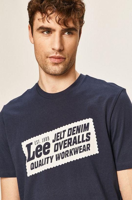 granatowy Lee - T-shirt
