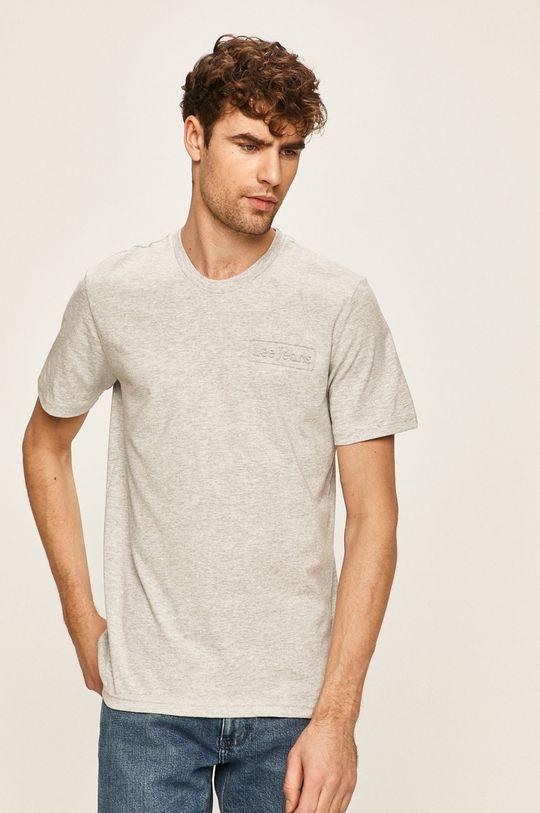 svetlosivá Lee - Pánske tričko Pánsky
