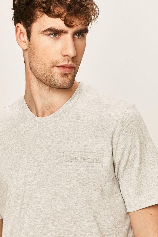 svetlosivá Lee - Pánske tričko