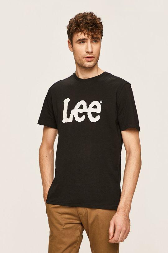 černá Lee - Tričko Pánský