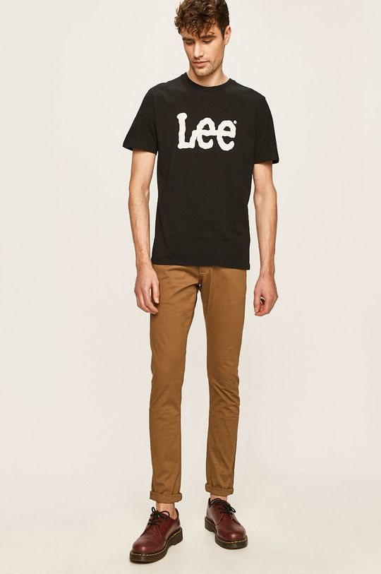 Lee - Tričko černá