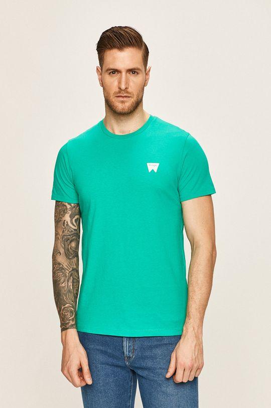 turcoaz Wrangler - Tricou De bărbați