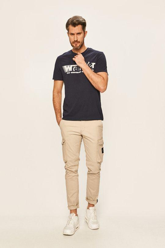 Wrangler - Тениска тъмносин