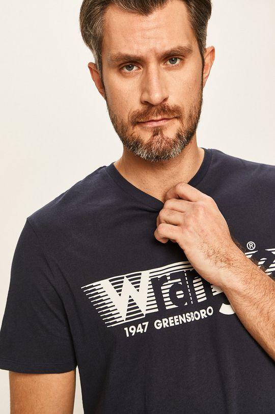 тъмносин Wrangler - Тениска