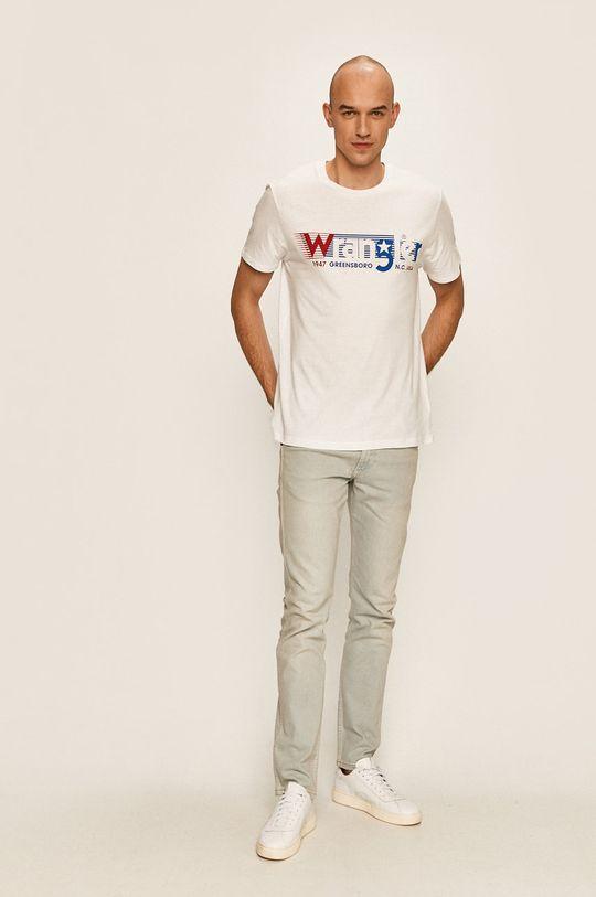 Wrangler - Тениска бял