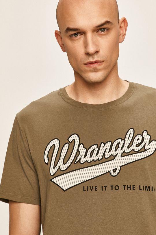 маслина Wrangler - Тениска Чоловічий