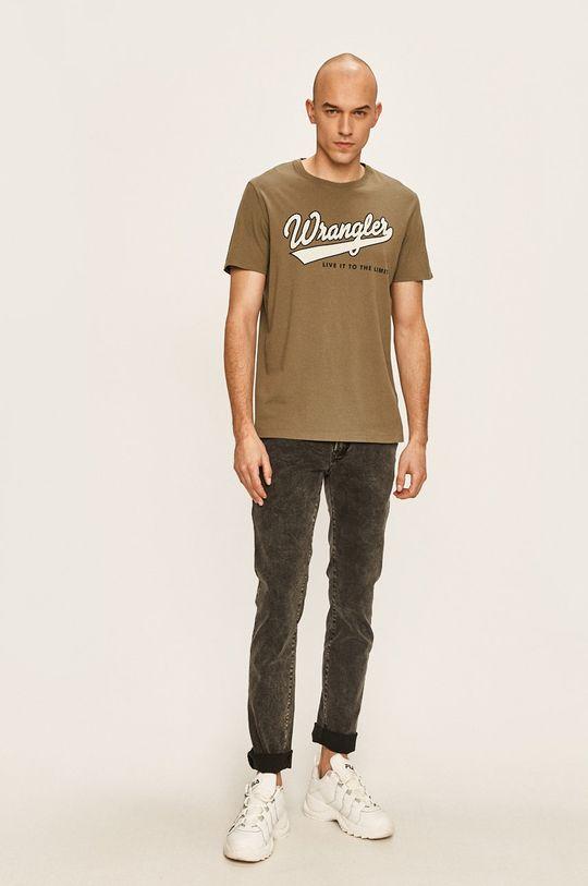 Wrangler - Тениска маслина