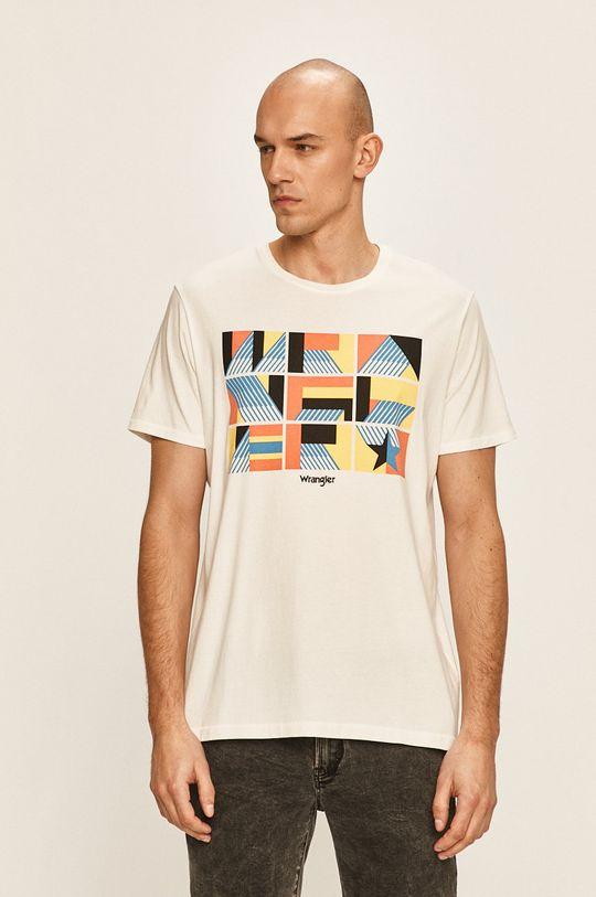 бял Wrangler - Тениска