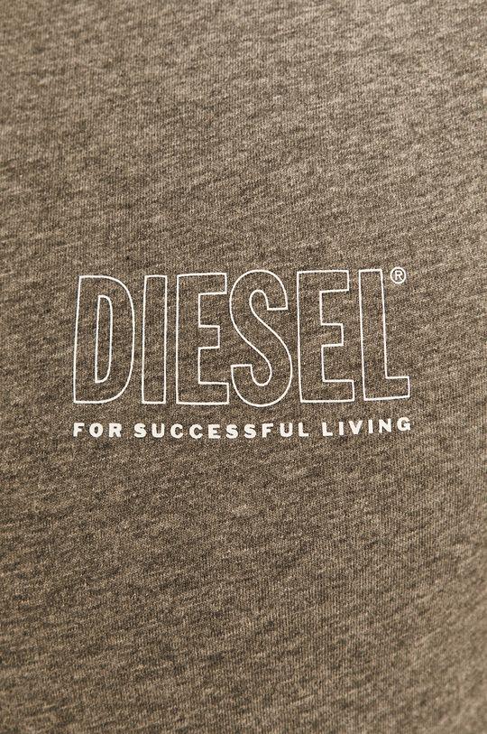 světle šedá Diesel - Tričko