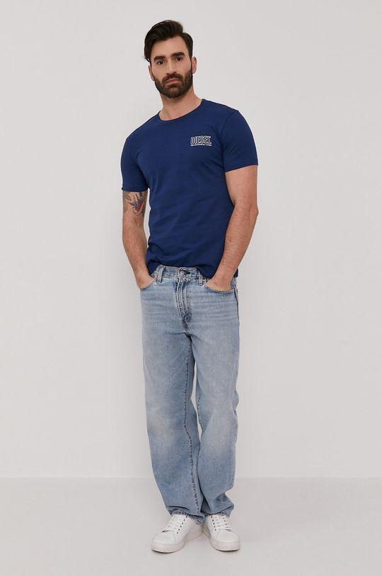 Diesel - Tričko oceľová modrá