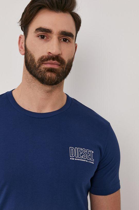 oceľová modrá Diesel - Tričko