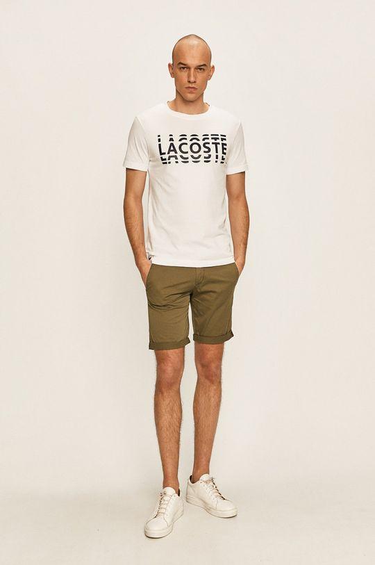 Lacoste - Tricou alb