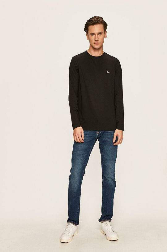 Lacoste - Tričko s dlouhým rukávem černá
