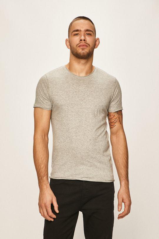sivá Brave Soul - Pánske tričko Pánsky