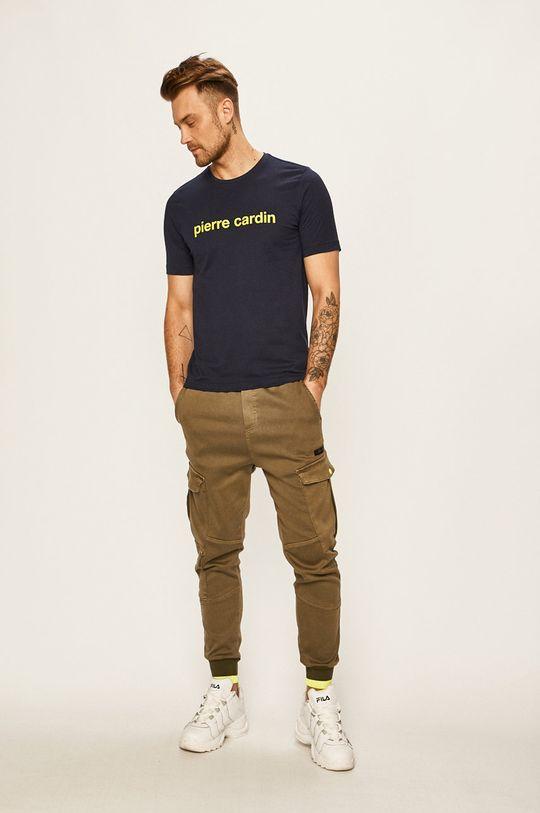 Pierre Cardin - Pánske tričko tmavomodrá
