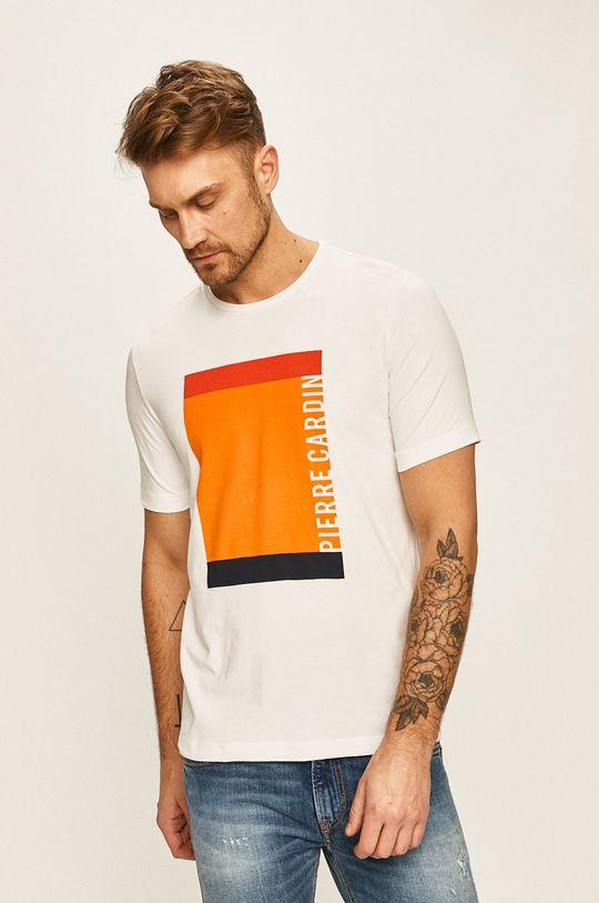 bílá Pierre Cardin - Tričko Pánský