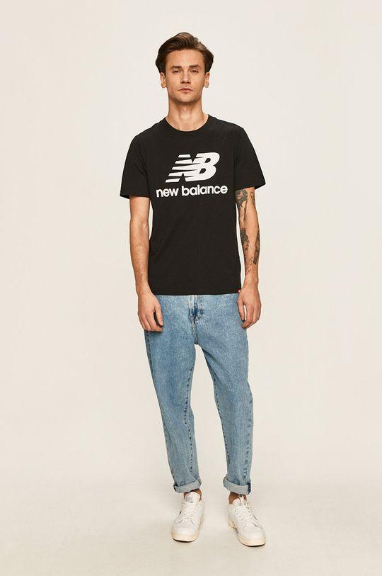 New Balance - Tričko černá