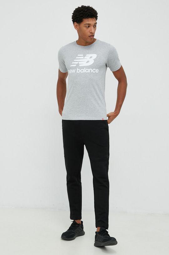 New Balance - Tričko šedá