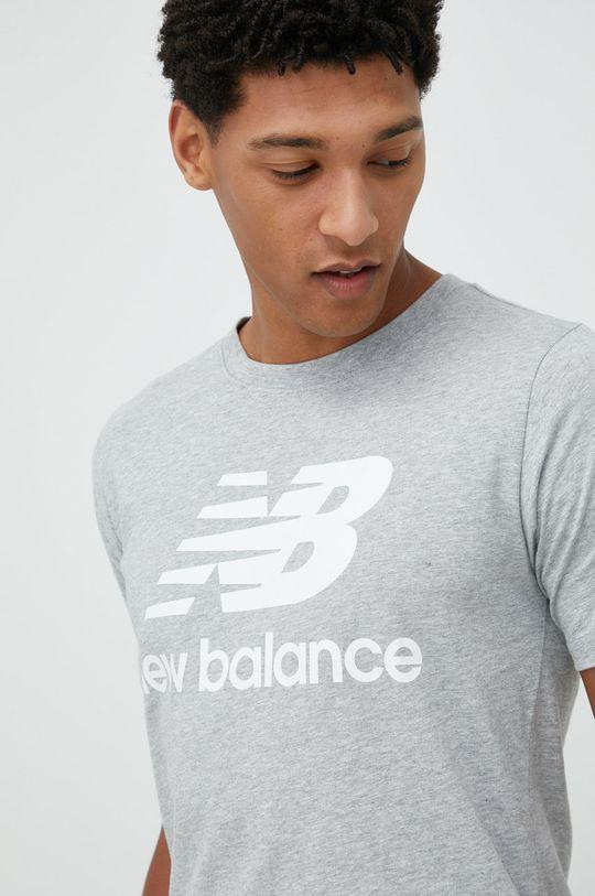 šedá New Balance - Tričko